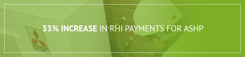 Increase in RHI Payments